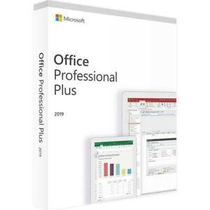 Microsoft Office Professional Plus 2019  Lifetime License