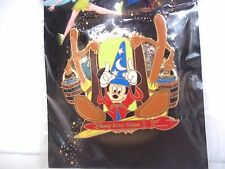 DISNEY 2005 HAPPIEST PIN CELEBRATION EVENT SORCERER MICKEY WITH BROOMS LE 1000
