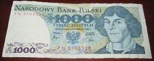 Banconote Europa/Polonia Narodowy Bank Polsky 1000 Tysiac Zlotych