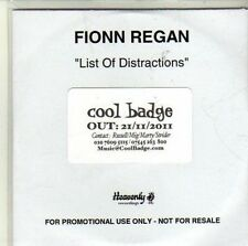 (CI601) Fionn Regan, List of Distractions - 2011 DJ CD