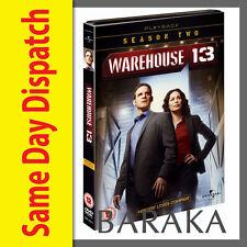 Warehouse 13 Season 2 DVD Box Set 4 Disc set R4 New and sealed