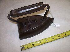 Sad Iron, Vintage A C W No. 7, Cast Iron Sad Iron (6 lbs. 3 oz.)