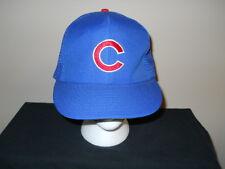 Vtg Chicago Cubs Annco 1980s snapback hat - Sandberg, Dawson, Walton (sku#1)