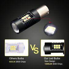 1Pair 3157 BA15S P21W LED BAY15D BAU15S PY21W Auto Lamp Bulbs Car LED Light