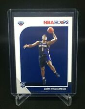 2019-20 NBA HOOPS ROOKIE CARD RC ZION WILLIAMSON NEW ORLEANS PELICANS