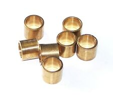 POOL SNOOKER BILLIARD CUE Tip Brass Ferrules, to suit Glue on type tips 11mm