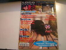 **c Loco Revue n°585 Le CPNS / Voitures DEV inox Rivarossi en HO / Normes P 87