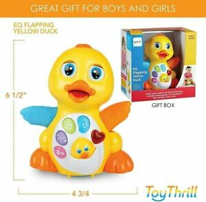 Duck Music Baby Toy Musical for 1 2 Year Old Girl Boy Babies Infant toddler kid