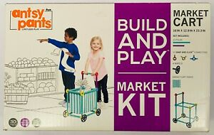 New Antsy Pants Limitless Play Build And Play Market Cart Kit Ages 4 and up
