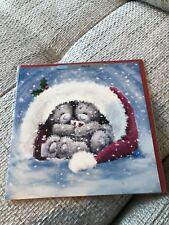 Fiance' Me To You Bear Christmas Card New