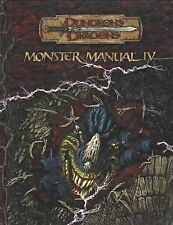 Dungeons & Dragons 3.5 Edition Monster Manual IV Handbook