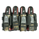 Social Paintball Grit Pack Pod Tournament Harness 4+7 - Woodland Camo - NEW