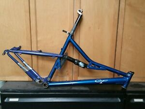 """Large Gary Fisher Genesis Full Suspension Mountain Bike Frame 19"""" Large"""