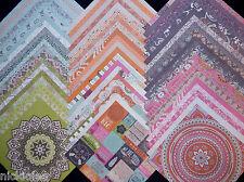 60 12X12 Scrapbook Paper Boho Bohemian Colorful Artsy Gypsy Hippy India Dream
