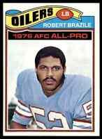 1977 Topps #240 Robert Brazile HOF NRMT Houston Oilers / Jackson State HBC