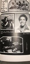 "Barack ""Barry"" Obama Senior Yearbook"" 44th President Of USA"" Super-Dooper-Rare"""