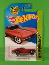 Hot Wheels - '64 Corvette Sting Ray (Red)