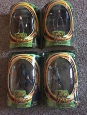 4~Lord of the Rings LOTR Fellowship of the Ring Legolas, Frodo, Strider, Samwise
