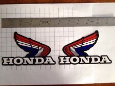 honda wings atc xl trx cr CRF 50 125 80 100 250 200 450 tank  Decal Sticker 70 L