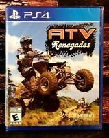 ATV Renegades - PS4 - Sony PlayStation 4 - Brand NEW - Sealed