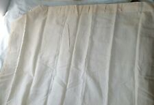 Barbara Barry SET of 2 Sheer Panel Curtains Rod Top Beige Dotted Neutral UNUSED