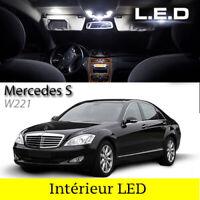 Kit 23 ampoules à LED pour l'éclairage intérieur blanc Mercedes classe S W221