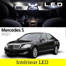 Kit 21 ampoules à LED pour l'éclairage intérieur blanc Mercedes classe S W221
