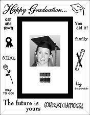 Sixtrees Moments Bevelled Glass Mirror Graduation 6 x 4 Picture Photo Frame Gift
