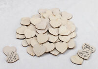 Set of 48 Guest Signing Hearts Guest Book Alternative Wedding Guestbook