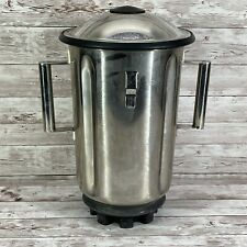 Stainless Steel Commercial Blender Cup Hamilton Beach 990 1 Gallon