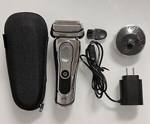 Braun Series 9 9293s Wet & Dry Electric Foil Shaver and Trimmer w/Charging Stand