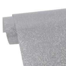 A4 sample Silver T-shirt Vinyl Glitter Heat Press Film transfer Iron on Clothes