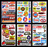 6 Stickers Aprilia Racing Be A Racer Diff/érents Formats Sponsor Moto Rouge Noir Red
