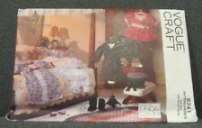 Vogue 8241 - Victorian Doll Clothes Pattern - Nightgown, Coat, Hat, Boots