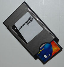8 GB Compact Flash Speicherkarte + PCMCIA Adapter für Mercedes Comand APS