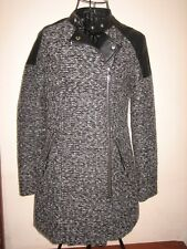 "A LOVELY STYLISH WOMENS NEW LOOK COAT SIZE 8  /  ZIP /  PIT-PIT APPROX -17""-19"""