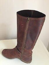 Woman's Timberland Leather Boots, Size UK 8