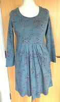 Brakeburn Ladies Dress 8 10 Jersey Casual Floral Pockets Everyday Winter