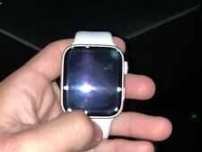 Apple Watch Series 4 44 mm Silver Aluminum Case with White Sport Band (GPS +...