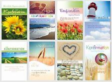 50 neue Glückwunschkarten Zur Konfirmation mit Kuvert SKP 3324