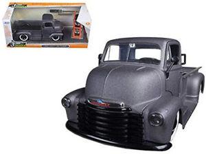 Jada Just Trucks 1:24 1952 Primer Charcoal Grey Chevy COE Pick-Up Model 97221