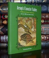 Aesop's Fables Illustrated by Milo Winter Brand New Deluxe Hardcover Classic