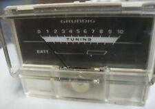 Grundig RR1040 Tuning-Anzeigeinstrument, getestet.