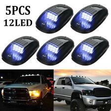 5Pcs Cab Roof Marker White LED Roof Top Truck SUV Pickup Running Driving Light