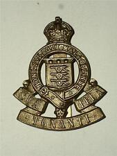 VINTAGE WW1, WW2 Royal Army Ordnance Corps latón Insignia