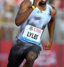$220 Adidas Track & Field SpeedSuit Singlet Track Lyles Mens Size Large #DP3944