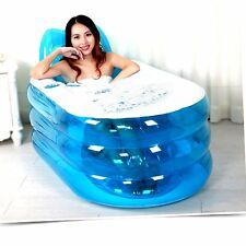Foldable Durable Adult Child SPA Inflatable Bathtub PVC and Electric Air Pump