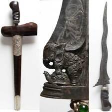 KERIS Kris ELEPHANT on TURTLE Indonesia Hinduistic magic sword BALI tribal art