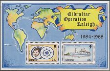 (ZG-69)1980 Gibraltar 5 mixed Lots mint