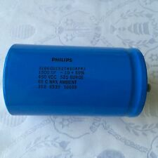 PHILIPS CAPACITOR 3186GG152T450APA1  1500UF,  450V